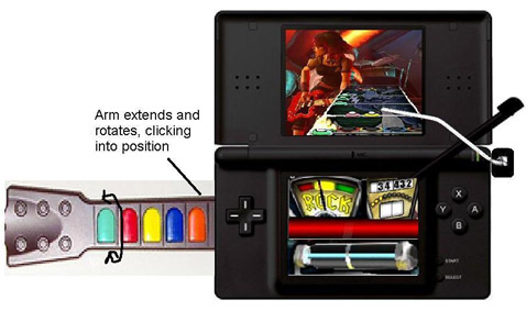 guitar hero ds concept