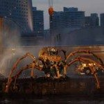 Giant Mechanical Spiders Attack Yokohama