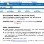Get Beyond the Rhetoric on Amazon Kindle
