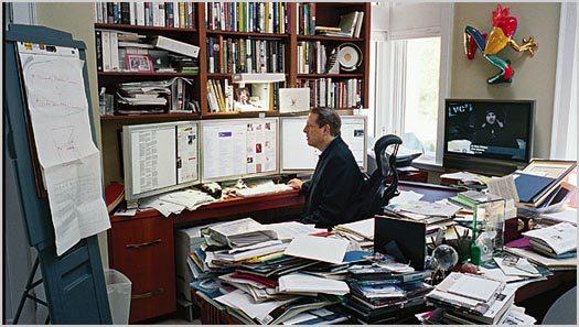 The Organized Chaos of a Work Desk » Beyond the Rhetoric
