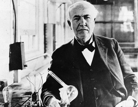 thomas edison quotes. Thomas Edison is well known