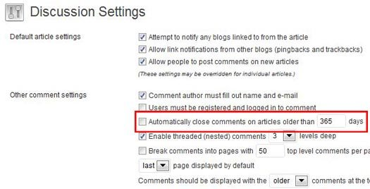 Should You Close Comments on Older Blog Posts?