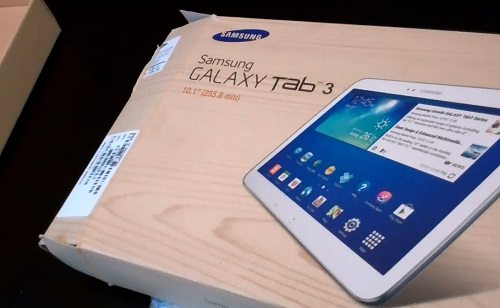 samsung galaxy tab unboxing video