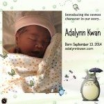Say Hello to Baby Adalynn Kwan