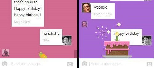Silly Easter Eggs in Google Hangouts