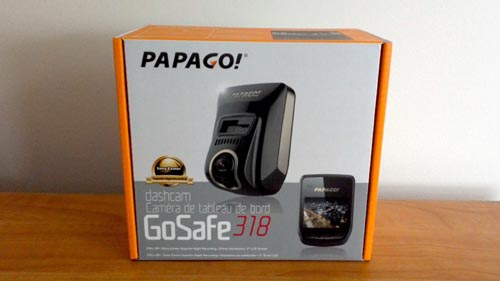 PAPAGO! GoSafe 318 Dashcam Overview and Unboxing Video