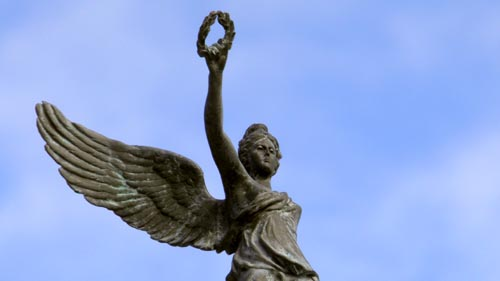 A Winged Statue of Nike by Carole Raddato (Flickr)