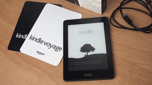 Tech Tuesday: Amazon Kindle Voyage Unboxing Video