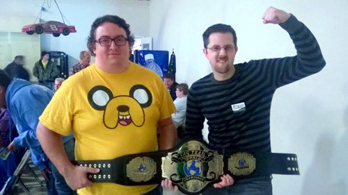 Dylan Duarte and Jeff Morin, Tag Team Champions of Questionable Taste
