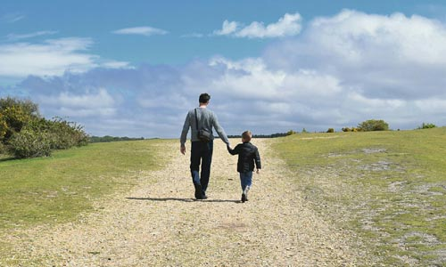 Sunday Snippet: Walk a Little Slower, Daddy